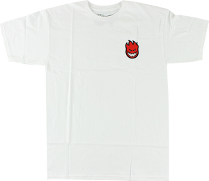 SF LIL BIGHEAD FILL SS M-WHT/RED