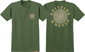 SPITFIRE OG CLASSIC SS XL-MILITARY GRN/TAN