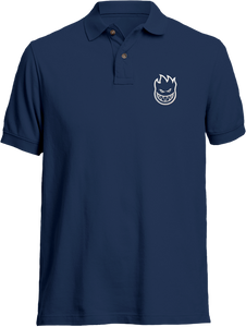SPITFIRE STD.ISSUE BIGHEAD POLO SS S-NAVY