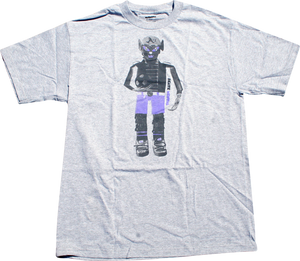 SKATE MENTAL SOCCER DOLL SS S-HEATHER GREY