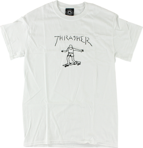 THRASHER GONZALES SS S-WHITE