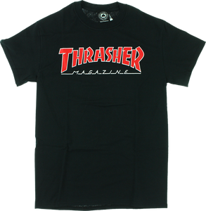 THRASHER OUTLINED SS XL-BLACK