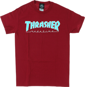 THRASHER OUTLINED SS XL-CARDINAL RED