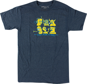 TOY MACHINE FRIENDS SS XL-BLUE HEATHER