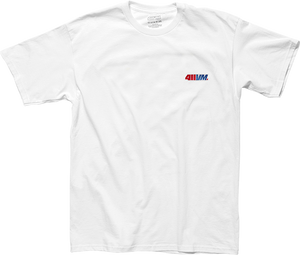 TRANSWORLD 411VM EMBROIDERED SS S-WHITE