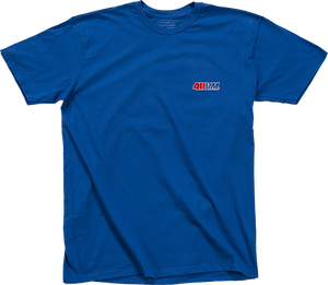 TRANSWORLD 411VM EMBROIDERED SS M-BLUE