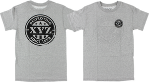 XYZ PRIDE SS XL-HEATHER GREY