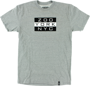 ZOO KINGS GOLDEN ERA FLAG SS S-HEATHER GREY