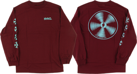 AW SONIC L/S S-BURGUNDY