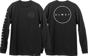 ALMOST SKATEBOARDS CRYPTIC L/S M-BLACK