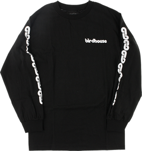 BIRDHOUSE B-CHAIN L/S M-BLACK