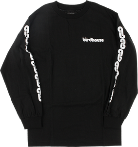 BIRDHOUSE B-CHAIN L/S L-BLACK