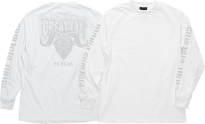 CREATURE STAAG L/S M-WHITE