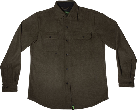 CREATURE INFANTRY L/S BUTTON UP S-MILITARY GREEN