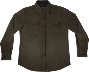 CREATURE INFANTRY L/S BUTTON UP XL-MILITARY GREEN