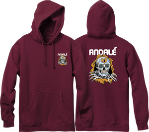 ANDALE BRIGADE HD/SWT M-BURGUNDY