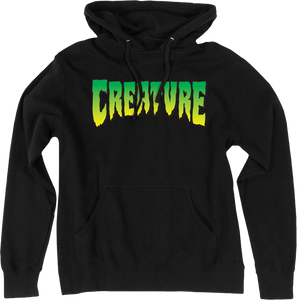 CREATURE LOGO HD/SWT M-BLACK