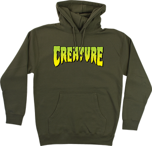 CREATURE LOGO HD/SWT M-ARMY