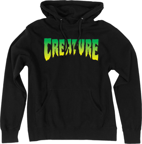CREATURE LOGO HD/SWT L-BLACK