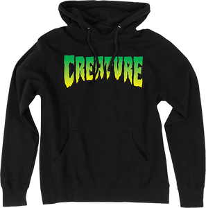 CREATURE LOGO HD/SWT XL-BLACK