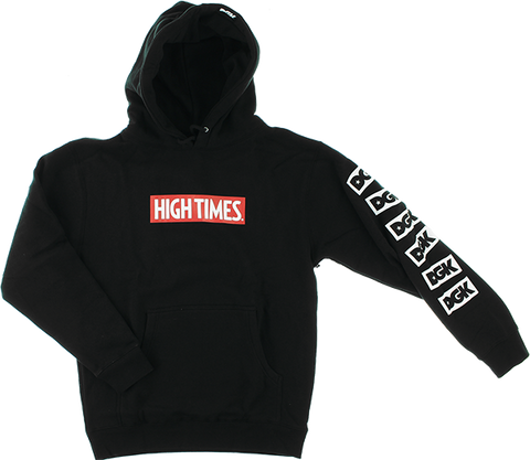 DGK HIGH TIMES LOCK UP HD/SWT S-BLACK
