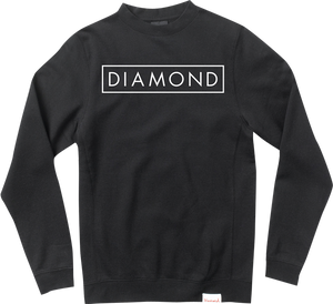 DIAMOND SUPPLY CO. FUTURE CREW/SWT M-BLK/WHT