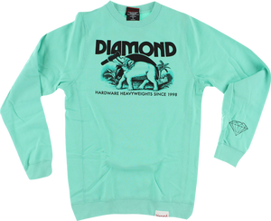 DIAMOND IVORY CREW/SWT XXL-DIAMOND BLUE/BLK
