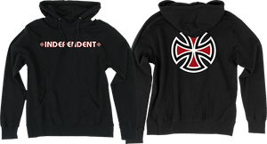 INDEPENDENT BAR/CROSS HD/SWT XL-BLACK