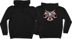 INDEPENDENT THRASHER PENTAGRAM CROSS HD/SWT S-BLACK