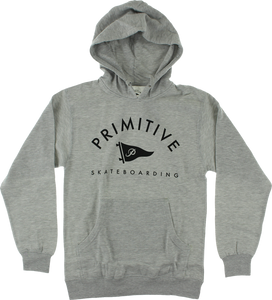 PRIMITIVE PENNANT ARCH II HD/SWT M-HEATHER GREY