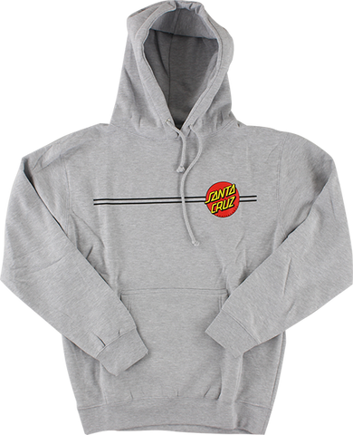 SANTA CRUZ CLASSIC DOT HD/SWT M-HEATHER GREY