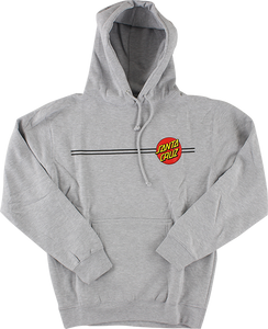 SANTA CRUZ CLASSIC DOT HD/SWT XL-HEATHER GREY
