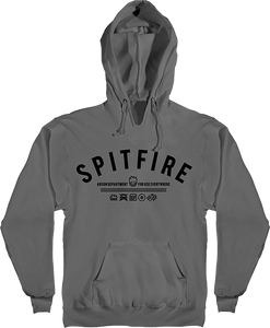 SPITFIRE BURN DIVISION HD/SWT M-CHARCOAL/BLACK