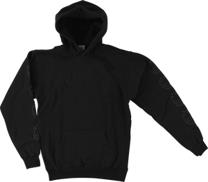 SPITFIRE OLD E EMBROIDERED HD/SWT XL-BLK/BLK