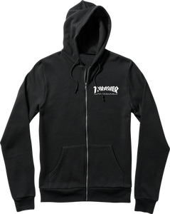 THRASHER SKATE MAG ZIP HD/SWT S-BLACK