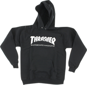 THRASHER SKATE MAG HD/SWT L-BLK/WHT