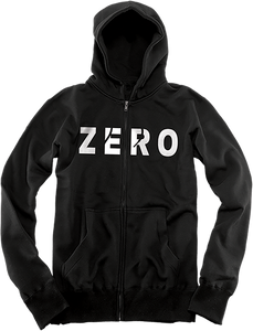 ZERO ARMY ZIP HD/SWT S-BLACK