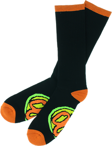 OJ WHEELS ELITE TALL SOCKS BLACK 1pr