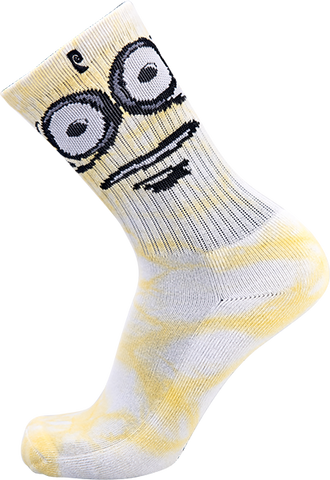 PSOCKADELIC BIG EGG CREW SOCKS 1pr