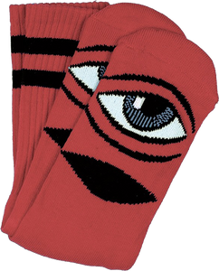 TOY MACHINE SECT EYE CREW SOCKS CLAY 1pr