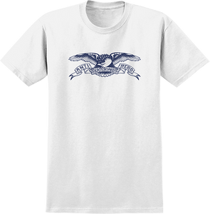 ANTI HERO BASIC EAGLE YTH SS S-WHT/NAVY