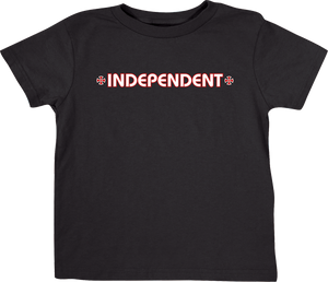 INDEPENDENT BAR CROSS YTH SS S-BLACK