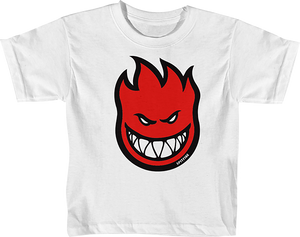 SPITFIRE BIGHEAD FILL TODDLER SS 3T-WHT/RED