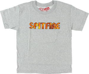 SF PYRE YTH-SS M-ATHLETIC HEATHER