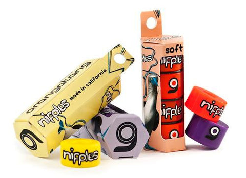 Orangatang Bushings: Nipples Purple Medium 4pack Bushings- Edge Boardshop