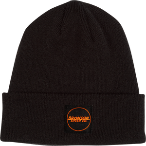 BRONSON SPEED CO. SPOT OUTLINE BEANIE BLACK