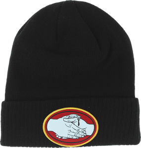 DOOM SAYERS SNAKE BITE BEANIE BLACK