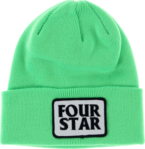 FOURSTAR FOUR HERO BEANIE NEON GREEN