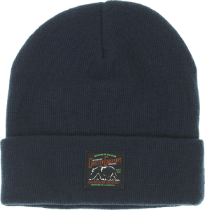 GRIZZLY DARK WOODS WATERPROOF BEANIE NAVY
