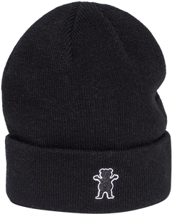 GRIZZLY GRAM BEANIE BLACK
